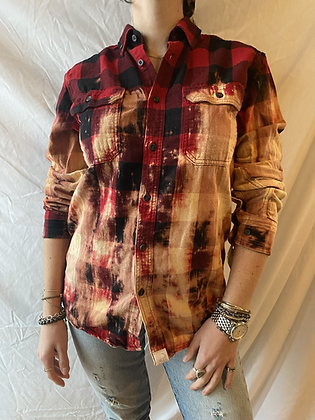 Winter '21 Acid Washed Flannel | Small