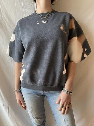 Spring '21 Acid Washed Sweatshirt | Flutter Sleeves | Small