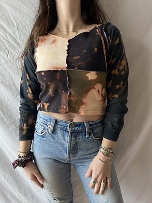Winter '21 Acid Washed Shirt | Exposed Seams | Extra Small