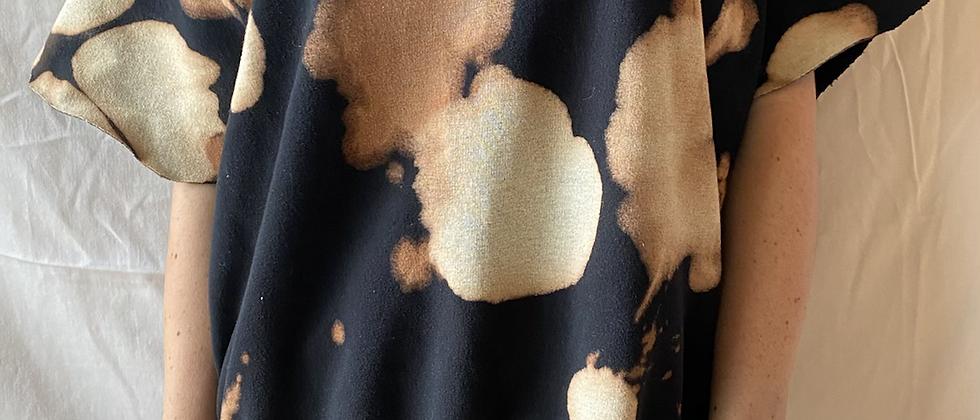 Spring '21 Acid Washed Sweatshirt | Flutter Sleeves | Medium