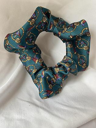 Winter '21 Silk Scrunchie | Carolina Herrera Necktie