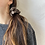 Thumbnail: Winter '21 Silk Necktie Scrunchie | Oscar de la Renta