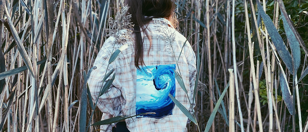 WICKEDXWILD BLEACHED FLANNEL