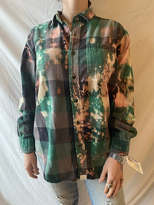 Winter '21 Acid Washed Flannel | Large