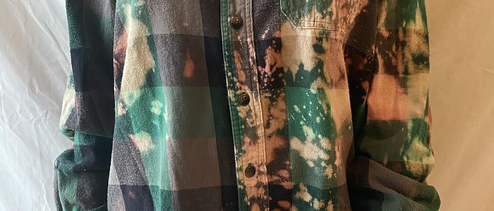Winter '21 Acid Washed Flannel   Large