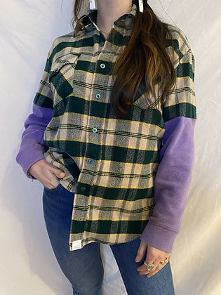 Winter '21 Flannel | Sweatshirt Sleeves | Medium