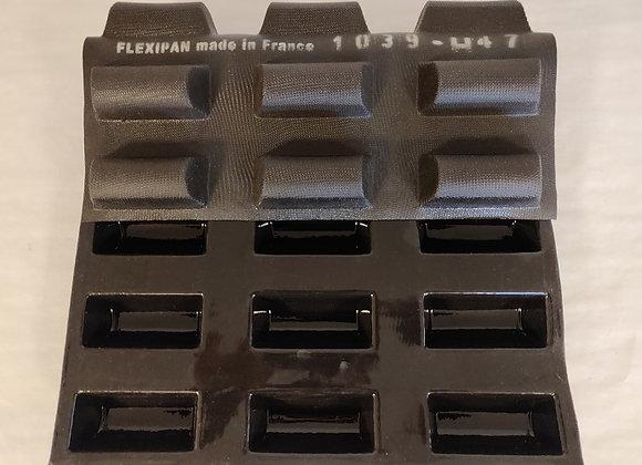 REKTANGULÆRFORM 95 x 40 mm | Prof. Depth 30 mm | Vol. 80 ml