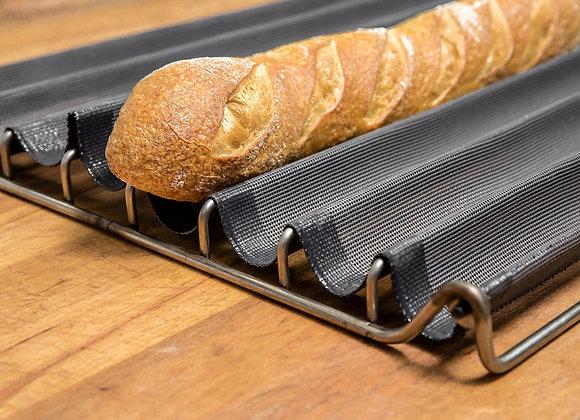 Fibermax (Baguette ramme  til 5 brød, komplet) Str. 600*400 L600 mm