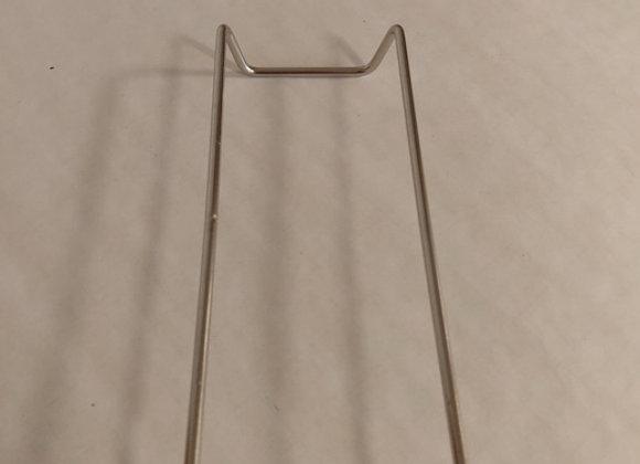 form stativ, rustfrit stål, 18x9cm