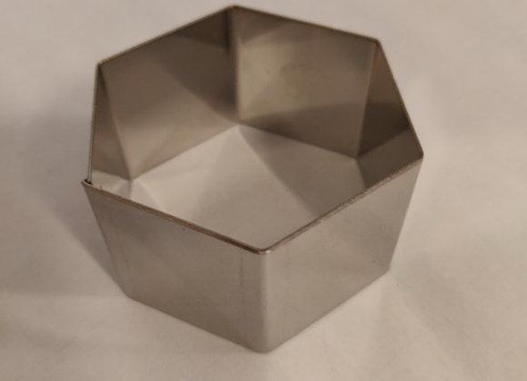 Udstikker – Rustfrit stål, 6 kant, 6cm.