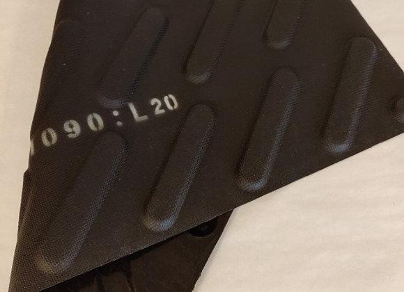REKTANGULÆRFORM 125 x 25 mm   Prof. Depth 5 mm   Vol. 15 ml