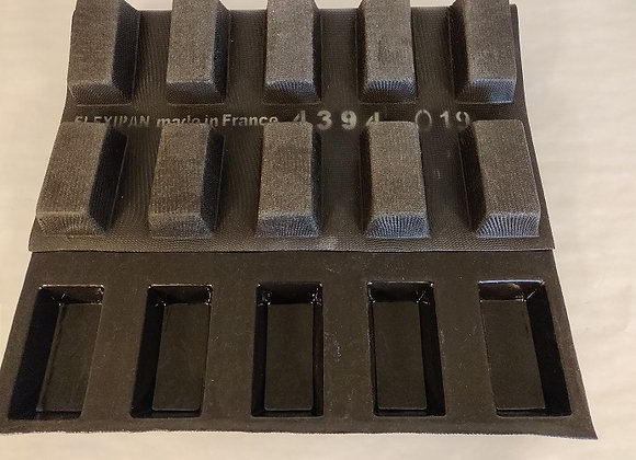 REKTANGULÆRFORM Haut 89 x 46 mm | Bas 77 x 34 mm | Prof. Depth 25 mm | Vol. 110