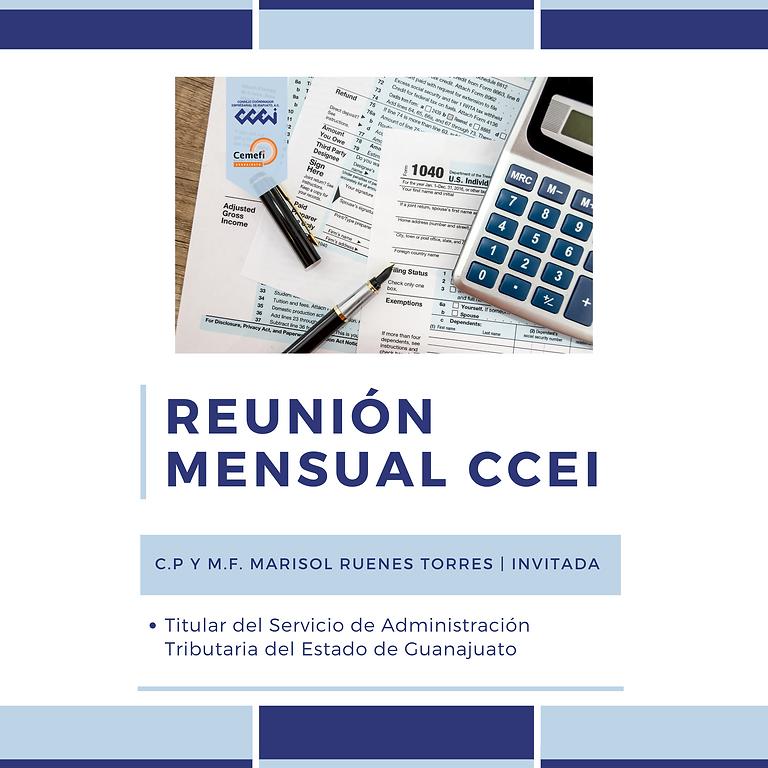 Reunión CCEI | SATEG