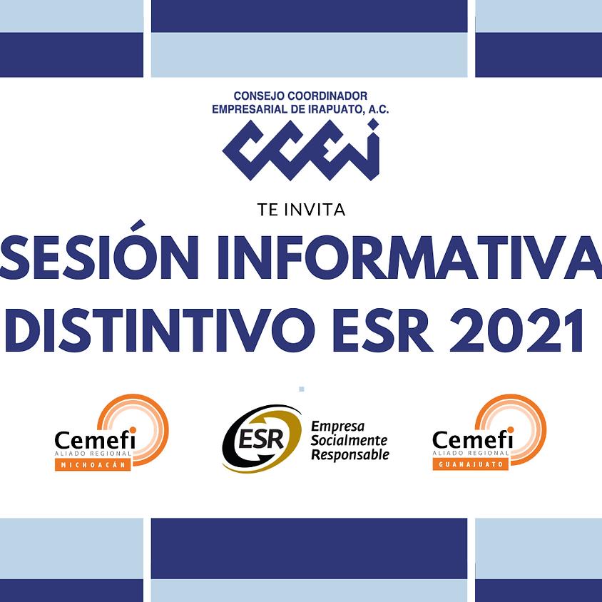 Sesión Informativa Distintivo ESR 2021 (Municipio Entidad Promotora)