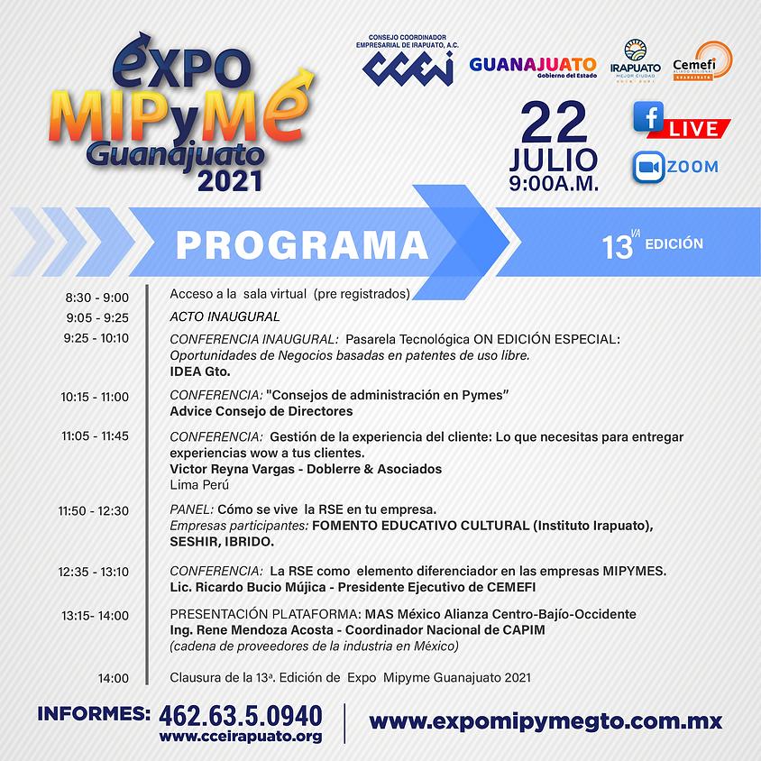 Expo MIPyME Guanajuato 2021