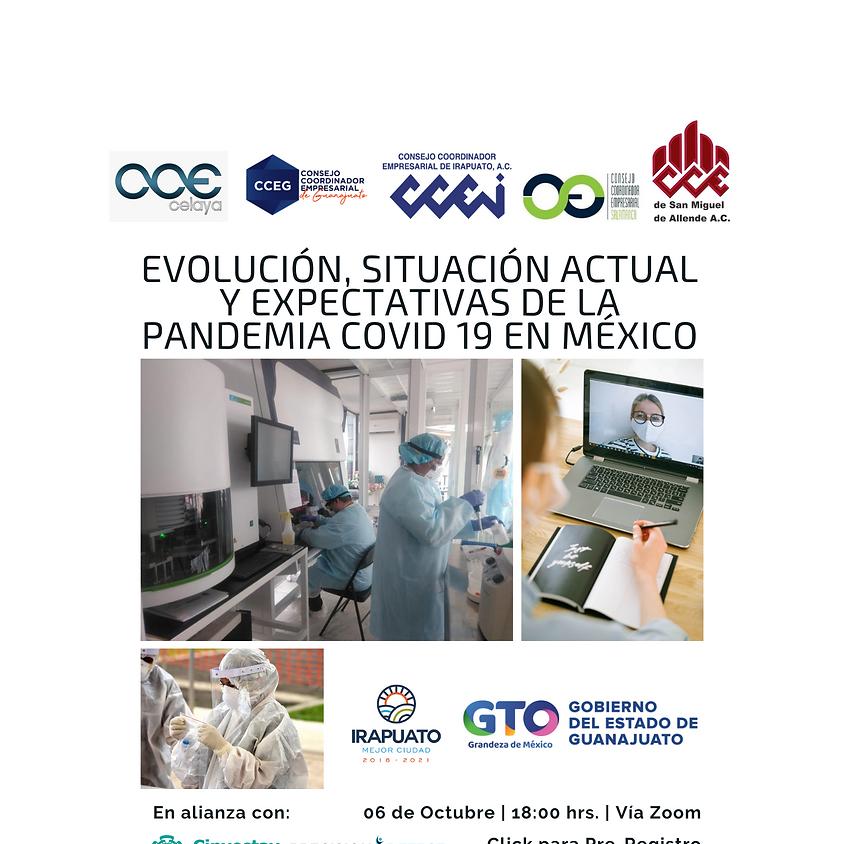 Evolución, Situación Actual y Expectativas de la Pandemia COVID-19 en México (Guanajuato)