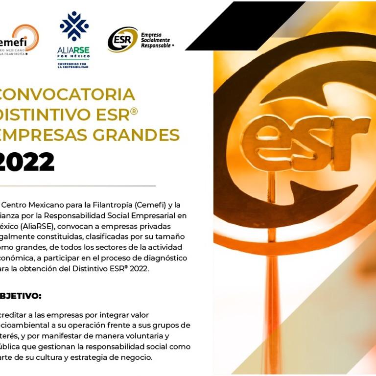 Convocatoria ESR Grandes 2022