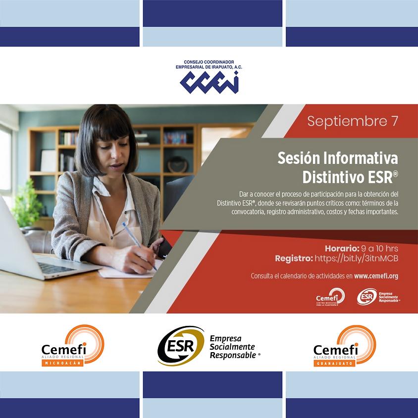 Sesión Informativa Distintivo ESR®