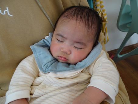 3か月の男の子と2回目のベビーマッサージ【ベビマレポ】