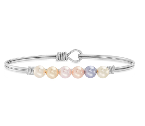 Luca and Danni Ombre Crystal Pearl Bracelet