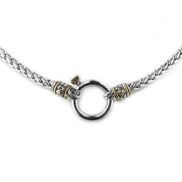 """JM Little Inspirations Spring Ring Charm Necklace 17"""""""
