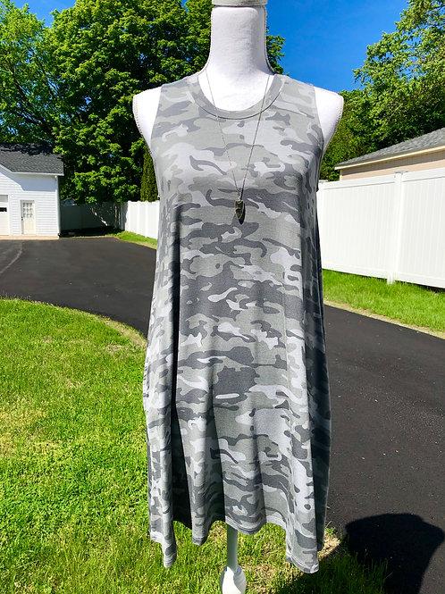 Camo Swing Dress
