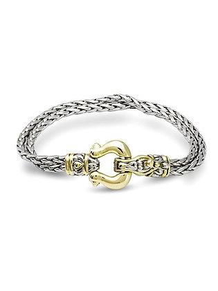 Double Strand Horseshoe Bracelet