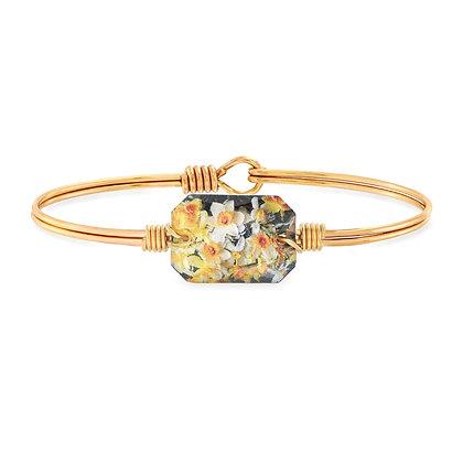 Luca and Danni Daffodils Bangle Bracelet