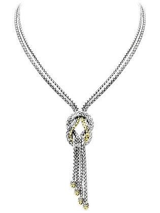 Anvil Knot Necklace