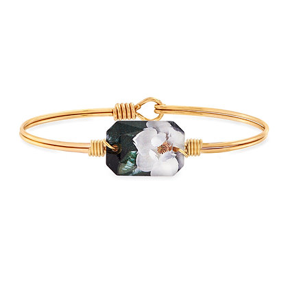 Magnolia Bangle Bracelet