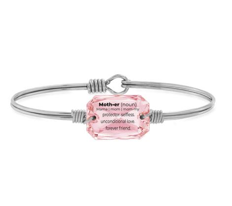 Luca and Danni Mom Definition Bracelet Vintage Rose