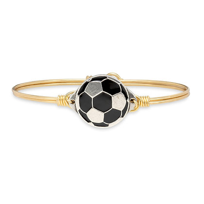 Luca and Danni Soccer Bangle Bracelet