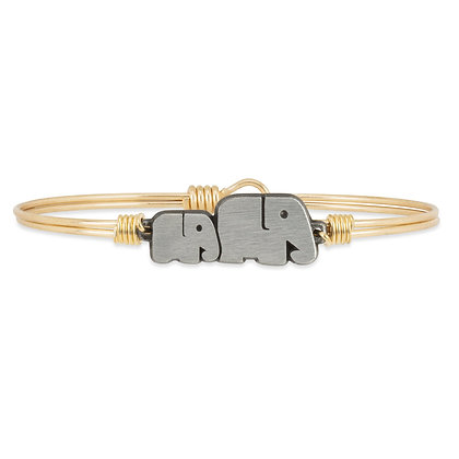 Luca and Danni Mama Elephant Bangle Bracelet