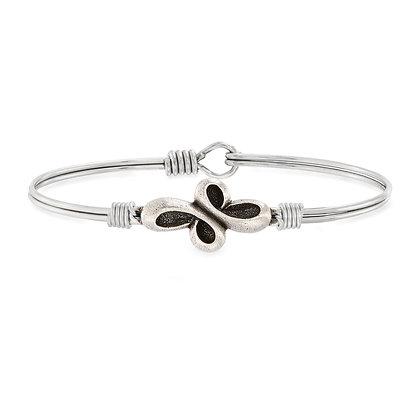 Luca and Danni Eternal Cross Bangle Bracelet