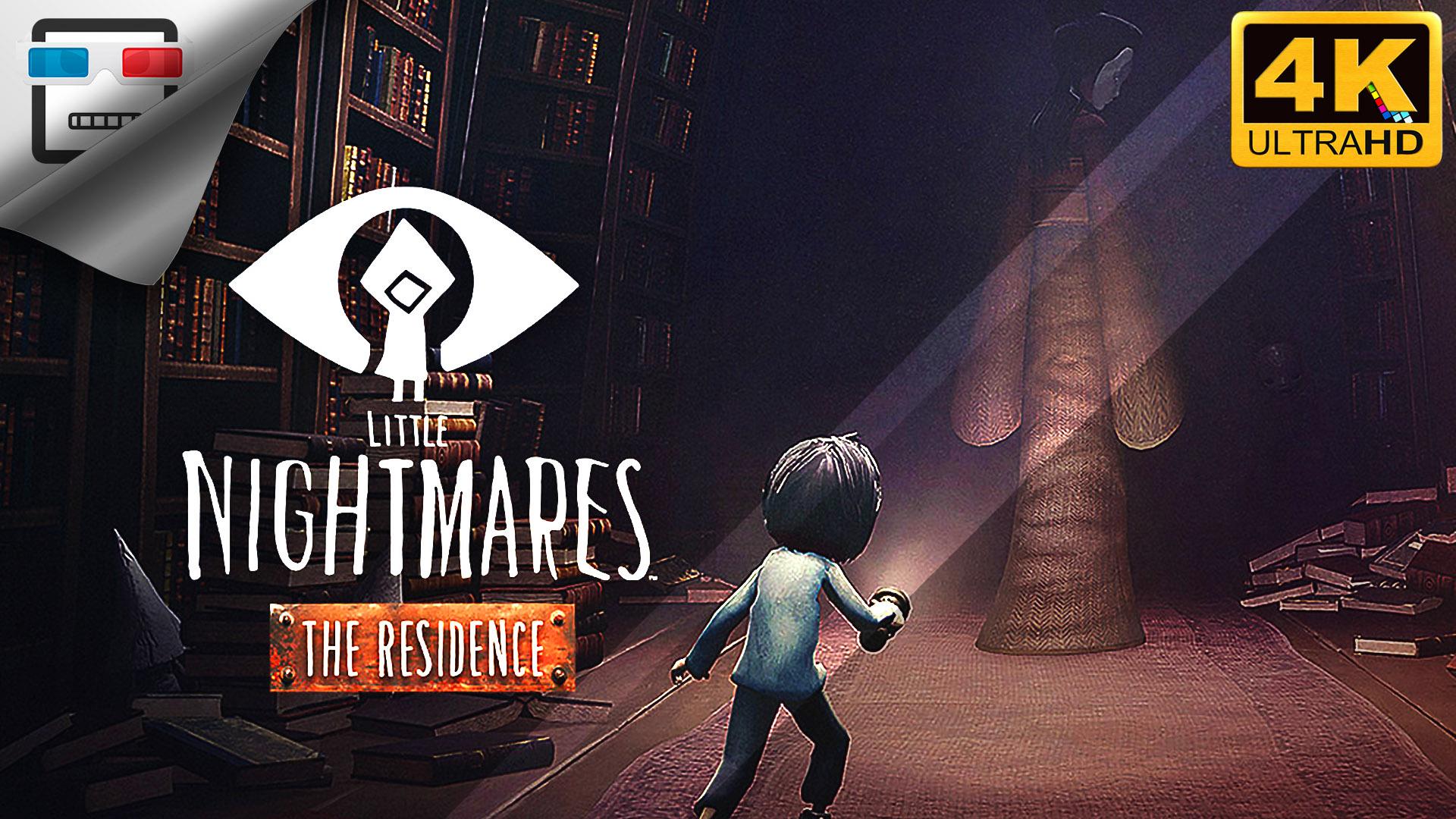 Резиденция ИГРОФИЛЬМ 4K60FPS Little Nightmares The Residence DLC Сюжет ужасы