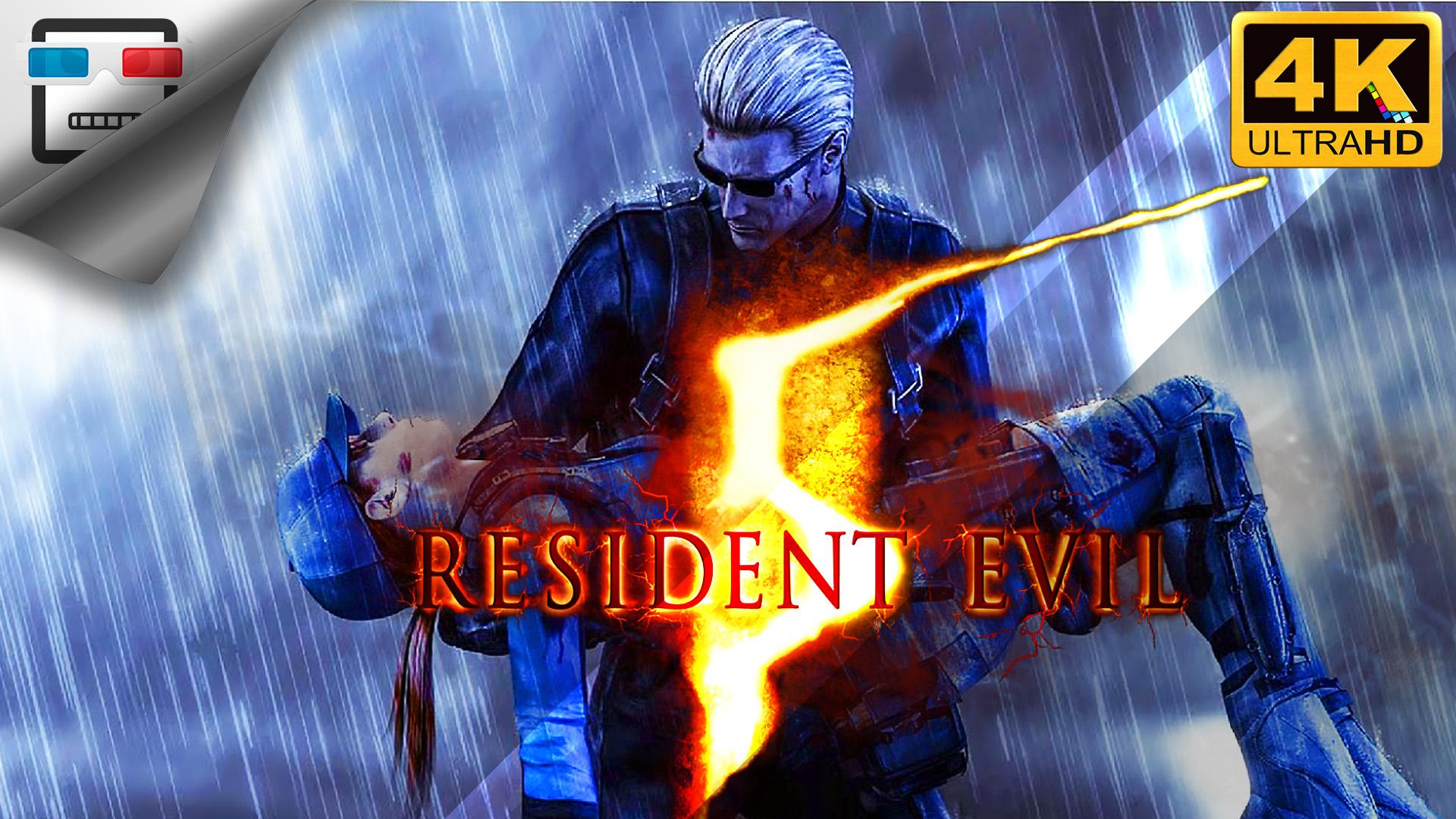 Обитель зла 5 русская озвучка Resident Evil 5 ИГРОФИЛЬМ 18+ 4K 60FPS Сюжет ужасы фантастика
