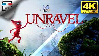 UNRAVEL 1 Игрофильм 4K60FPS Прохождение