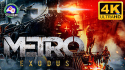 Метро Исход 4K 60FPS ИГРОФИЛЬМ Metro Exodus прохождение без комментариев cюжет фантастика