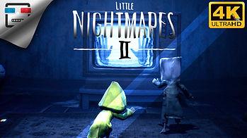 Little Nightmares 2  ИГРОФИЛЬМ Детские с
