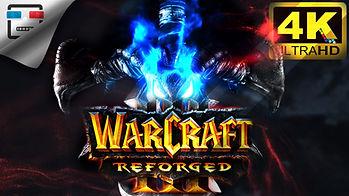 Warcraft III  4K60FPS Игрофильм русская