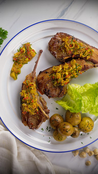 Lamb In Spices