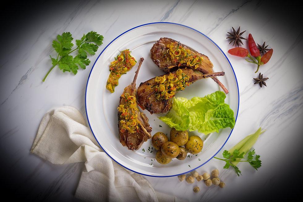 1. daging domba masak rempah_Lamb in spi