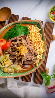 Lamb noodles In Broth