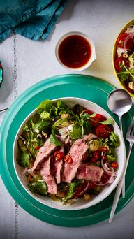 Spicy Thai Lamb & Noodle Salad