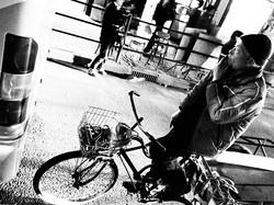 Smoking on the Bike
