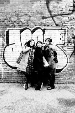 Three Girls.  New York
