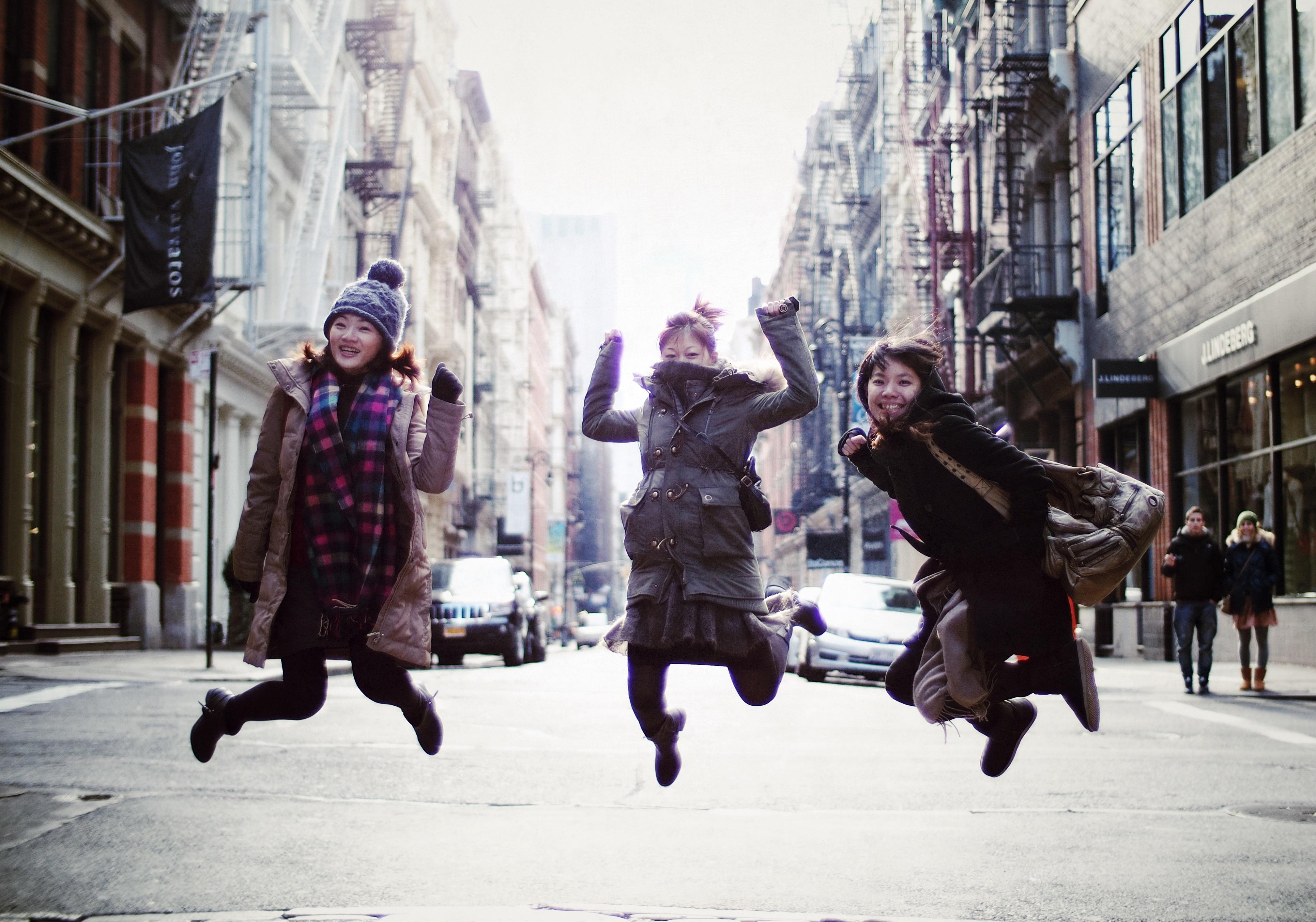 Three Girls.  New York.jpg