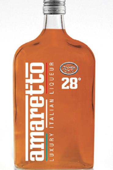 Liquore Amaretto Italian Spirits 28%, Distilleria Zanin 0.70 L
