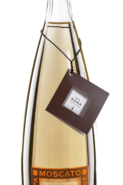 VIA ROMA Grappa Moscato Riserva 40% vol., Distilleria Zanin, 0.70 L