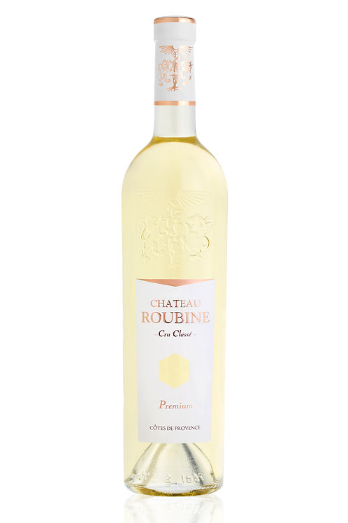 Premium Blanc Côtes de Provence Cru classé AOC 2016, Château Roubine 0.75 L